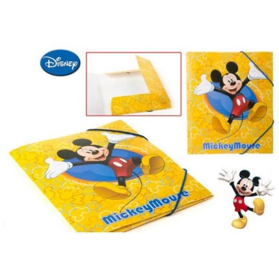 Capa Elasticos A4 Mickey