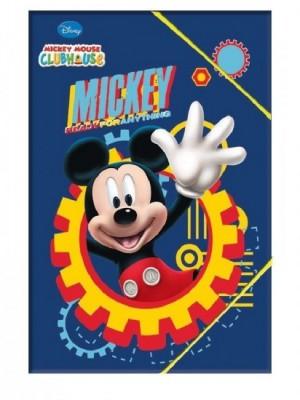 Capa elasticos Mickey Blue