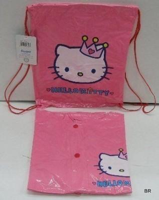 Capa impermeavel para chuva hello kitty com bolsa