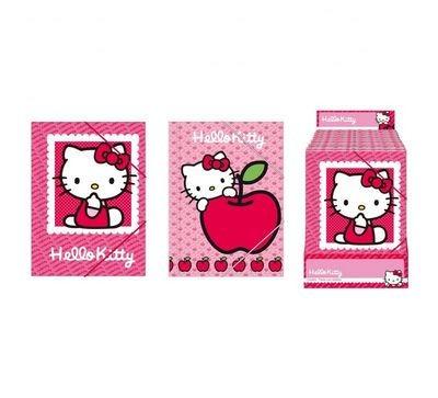 Capas com Elastico Hello Kitty 12 Unid