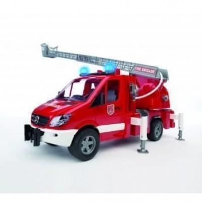 Carro bombeiros Mercedes Benz Sprinter Bruder Profissional