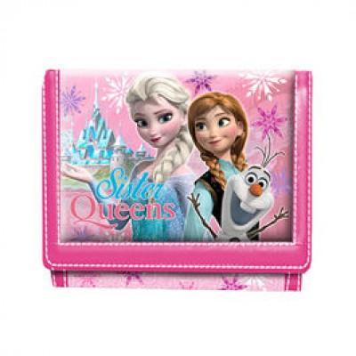 Carteira Frozen Sister Queen Pink