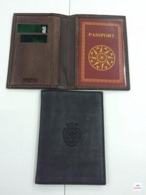 Carteira Passaporte Pele SCP Sporting