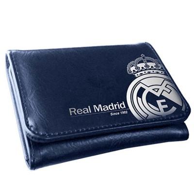 Carteira porta moedas azul Real Madrid