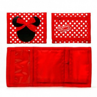 Carteira velcro Disney Minnie Mouse
