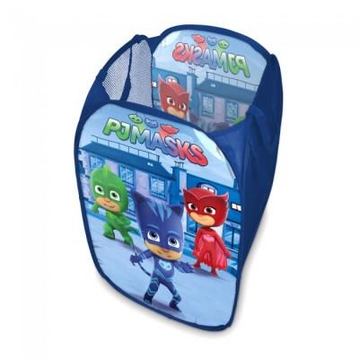 Cesto de arrumação brinquedos PJ Masks