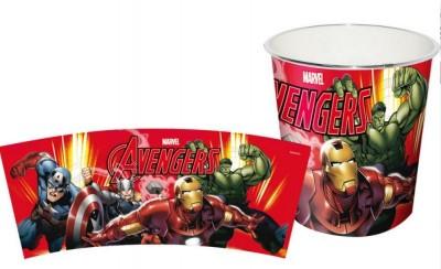 Cesto de Papéis Avengers Vingadores