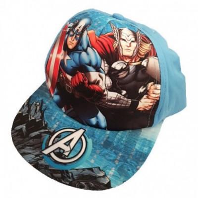 Chapéu CAP Marvel Avengers viseira plana