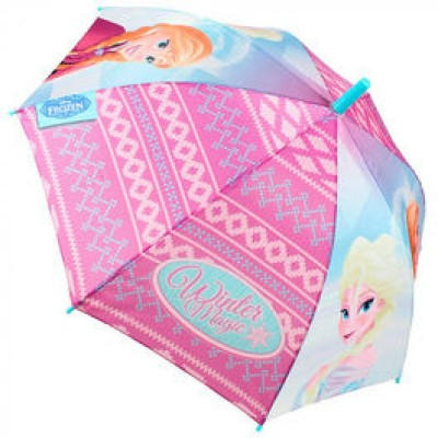 Chapeu chuva Frozen Winter Pink