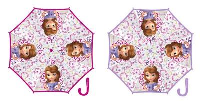 Chapéu chuva manual transparente Disney Princesa Sofia