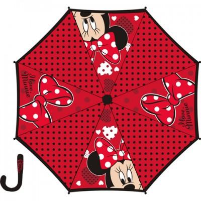 Chapéu chuva preto Disney Minnie 48cm
