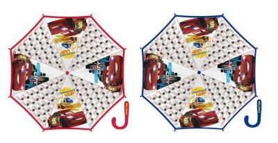 Chapéu chuva transparente Disney Cars Cup 46cm