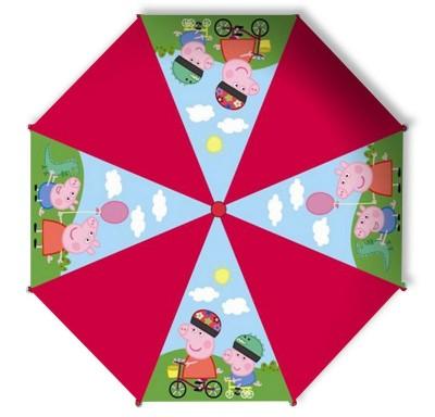 Chapeu de chuva automatico da Porquinha Peppa