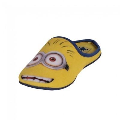 Chinelo Pantufa minions yellow