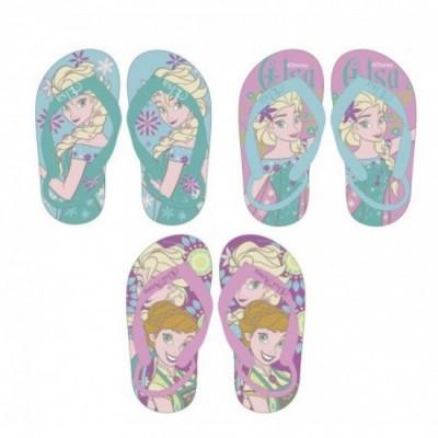 Chinelos Frozen Disney c/ Elástico 12 Und