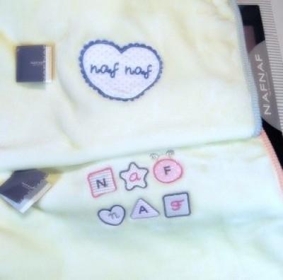 Cobertor bebé Naf Naf varias cores
