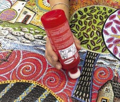 Cola Puzzles Permanente Educa Fixpuzzle