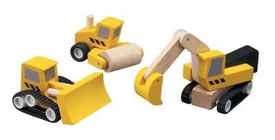 Conj. de Máquinas construção Plan Toys