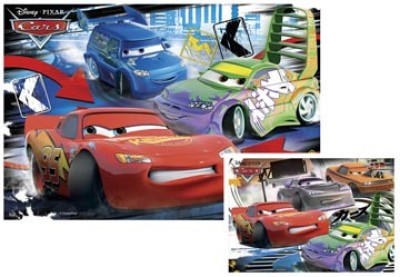 Conj. Puzzles Cars 2x20pcs