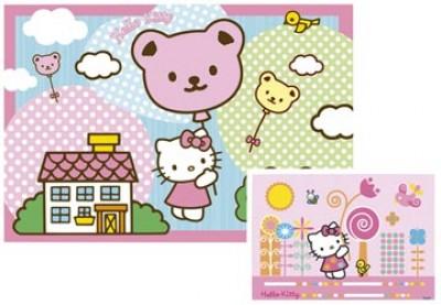 Conj. Puzzles Hello Kitty 2x20pcs