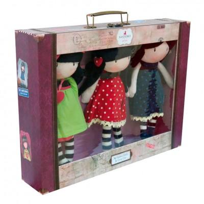 Conjunto 3 bonecas Gorjuss