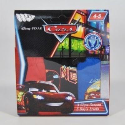 Conjunto 3 cuecas Disney Cars