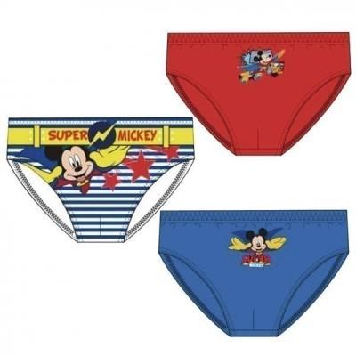 Conjunto 3 Cuecas Mickey Mouse