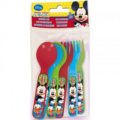 Conjunto 3 pares talheres Mickey