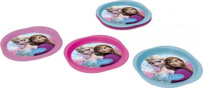 Conjunto 3 pratos Disney Frozen