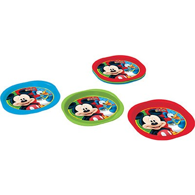 Conjunto 3 pratos Mickey Mouse