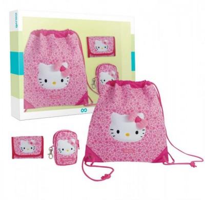 Conjunto acessorios Hello Kitty