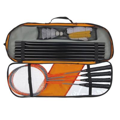 Conjunto Badminton Completo 4 Jogadores