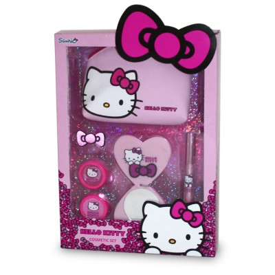 Conjunto Cosmeticos Hello Kitty