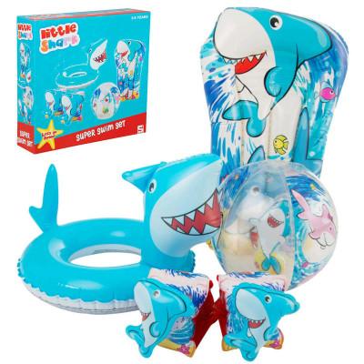 Conjunto de Piscina Tubarão