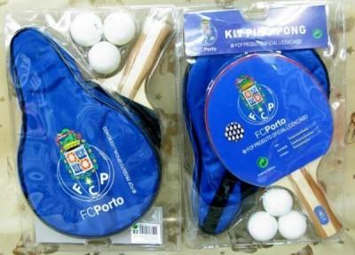 Conjunto de raquete ping pong com bolsa Porto