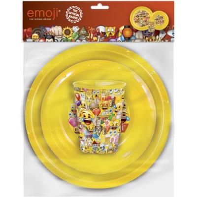 Conjunto de refeição Emoji