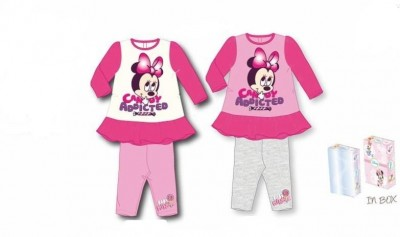 Conjunto Disney leggins e tunica minnie baby
