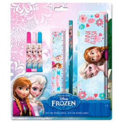 Conjunto escolar Frozen 6 pcs