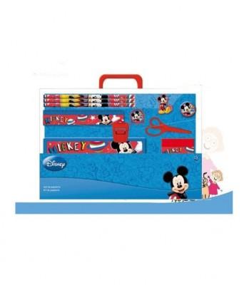 Conjunto escolar Papelaria Mickey Mouse