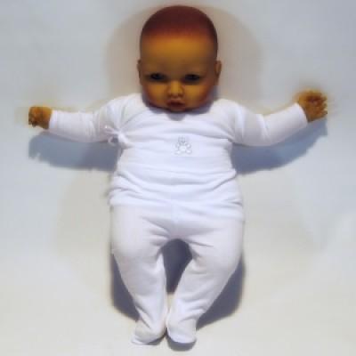 Conjunto interior bebé algodão