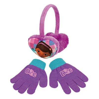 Conjunto Luvas + Tapa-orelhas Doutora Brinquedos