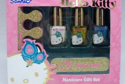 Conjunto Manicure Hello Kitty