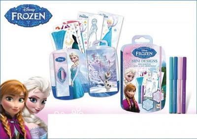 Conjunto Mini Desenhos Pintar Frozen