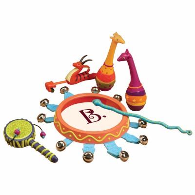 Conjunto Musical Jungle Jingles Battat-B