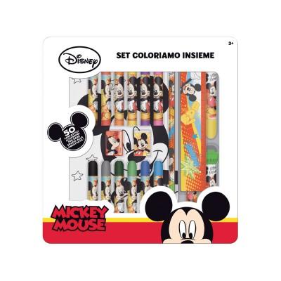 Conjunto Papelaria Artista Completo Mickey