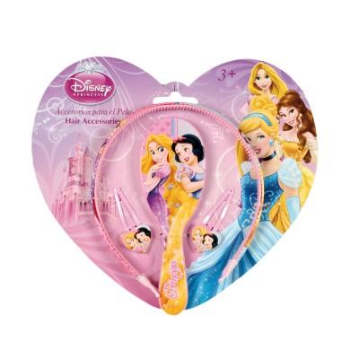 Conjunto Penteados Princesas Disney
