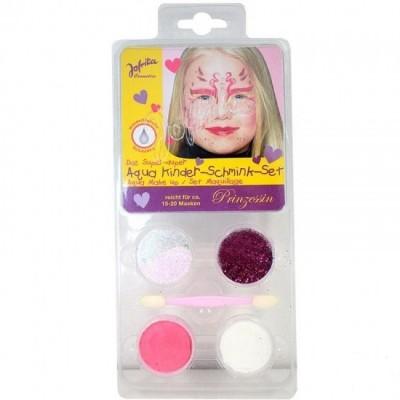 Conjunto pintura facial princesa