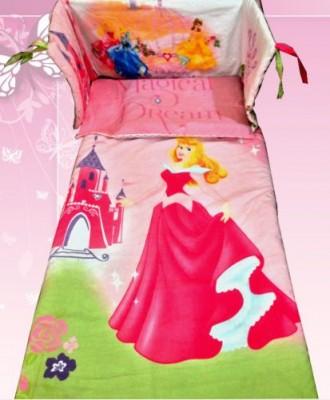 Conjunto princesa bela adormecida cama de grades