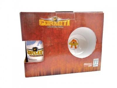 Conjunto Refeicao Ceramica Gormiti