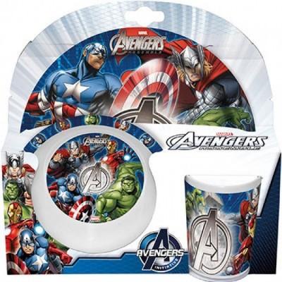Conjunto refeição Marvel Avengers
